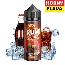 HORNYFLAVA Rum & Cola  120ML