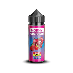 HORNY FLAVA Pomberry 120ML