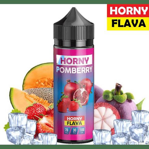 HORNY FLAVA Pomberry 120ML