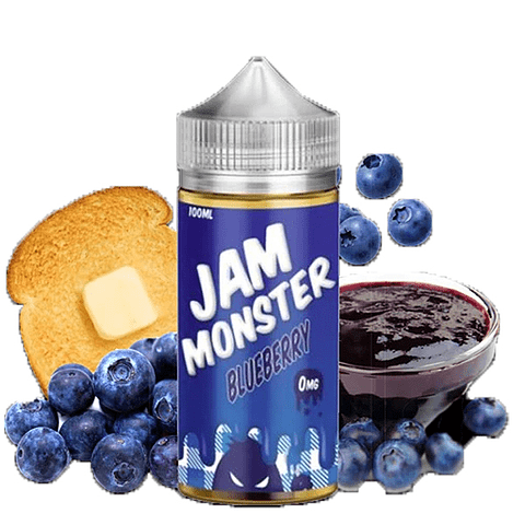 JAM MONSTER – Blueberry 100ML