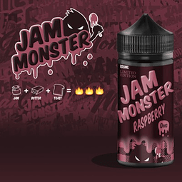 JAM MONSTER – RASPBERRY 100ML