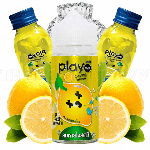 Play More - Cooling Lemon 100ML