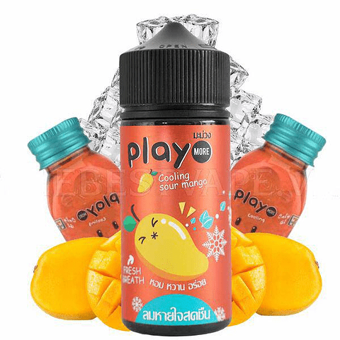 Play More - Cooling Sour Mango 100ml