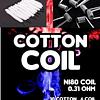 Cotton coil , 10 algodón + 6 resistencia