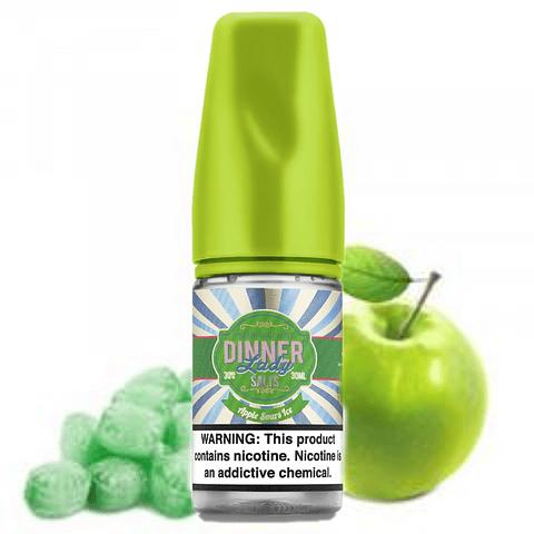 DINNER LADY Apple Sours Ice Salt 30ML