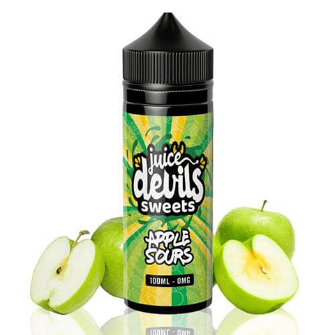 Juice Devils Apple Sours Sweets 100ml