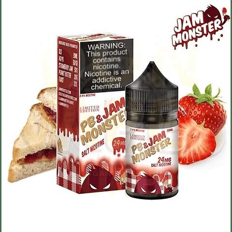 PB Jam Monster  – Strawberry 30ml SALT