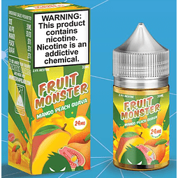 Fruit Monster Mango Peach Guava Salt 30ml