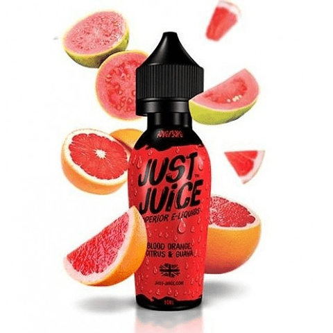 Just Juice Blood Orange Citrus Guava 60ML