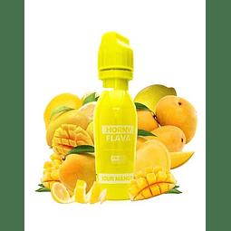 HORNYFLAVA Sour Mango 65ML