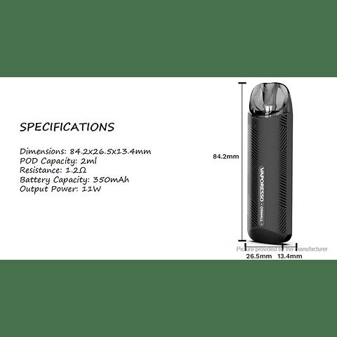 Osmall Pod Mod 2ml 11W 350mAh - + liquido salt elección