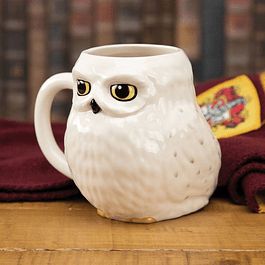 Caneca 3D Harry Potter Hedwig