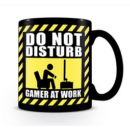 Caneca Gamer at Work