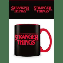 Caneca Stranger Things Logo