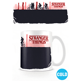 Caneca Mágica Stranger Things Upside Down