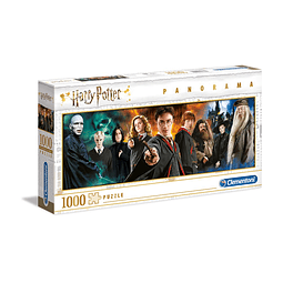 Puzzle 1000 Peças Harry Potter Characters Panorama