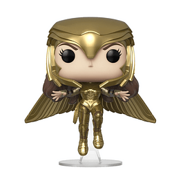 POP! Heroes: WW84 - Wonder Woman Golden Armor Flying