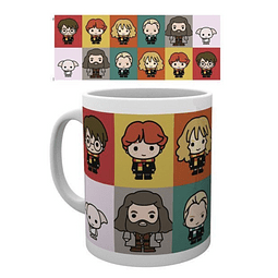 Caneca Harry Potter Chibi Characters