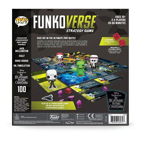 The Nightmare Before Christmas Funkoverse Board Game Base Set