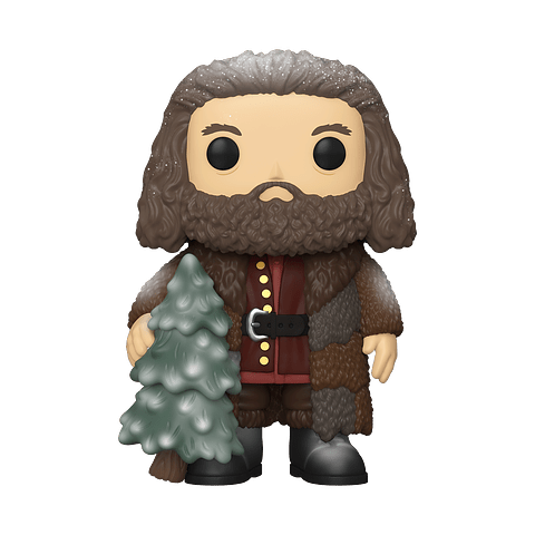 POP! Harry Potter Holiday: Rubeus Hagrid (Super Sized)