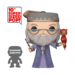POP! Harry Potter: Albus Dumbledore with Fawkes (Super Sized)