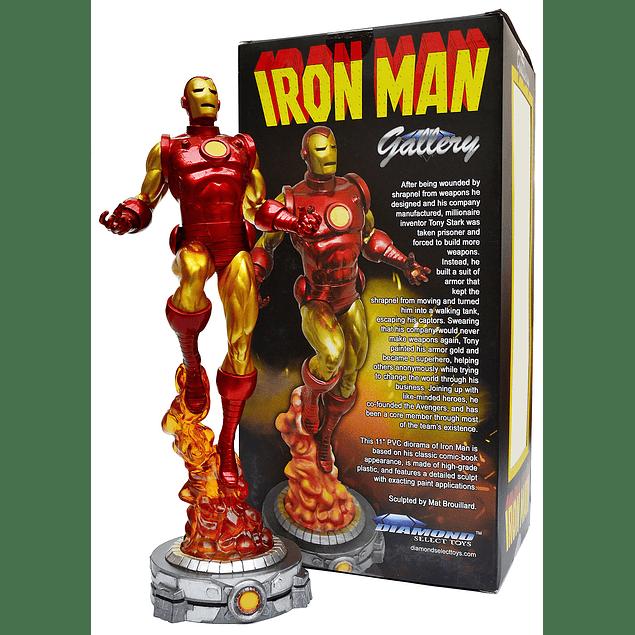 Marvel Gallery PVC Diorama Classic Iron Man