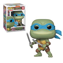 POP! Retro Toys: Teenage Mutant Ninja Turtles - Leonardo
