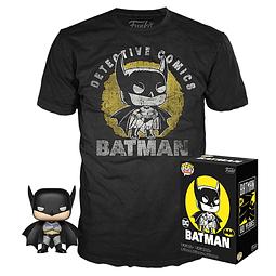 POP! & Tee Box DC Batman Sun Faded Exclusive