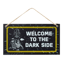 Door Hanger Star Wars Welcome to the Dark Side