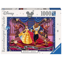 Puzzle 1000 Peças Disney Collector's Edition Beauty and the Beast