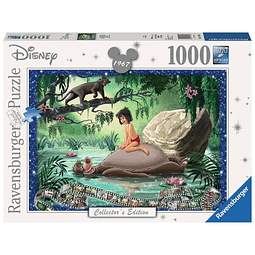 Puzzle 1000 Peças Disney Collector's Edition The Jungle Book