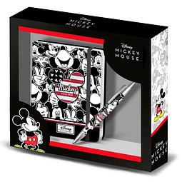 Gift Box Disney:  Mickey U.S.A. Diary & Pen