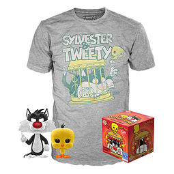 POP! & Tee Box Looney Tunes Sylvester & Tweety