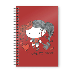 Notebook A5 DC Comics Harley Quinn Chibi Puddin