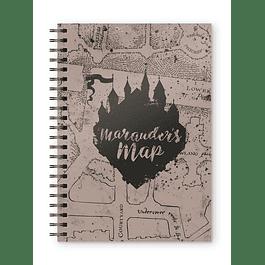 Notebook A5 Harry Potter Marauder's Map