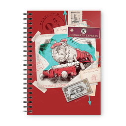 Notebook A5 Harry Potter Hogwarts Express
