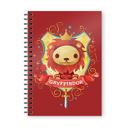 Notebook A5 Harry Potter Gryffindor Kids