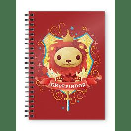 Notebook A5 Harry Potter Gryffindor Kids