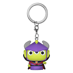 Porta-chaves Pocket POP! Disney Pixar Alien Remix: Zurg