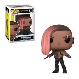 POP! Games: Cyberpunk 2077 - V-Female