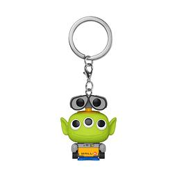Porta-chaves Pocket POP! Disney Pixar Alien Remix: Wall-E