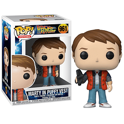 POP! Movies: Back to the Future - Marty in Puffy Vest