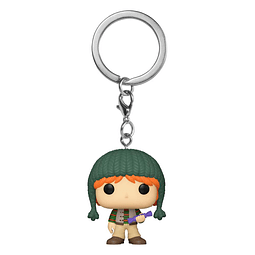 Porta-chaves Pocket POP! Harry Potter: Ron Weasley Holiday