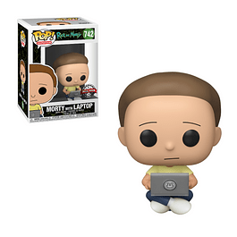 POP! Animation: Rick and Morty - Morty with Laptop Special Edition