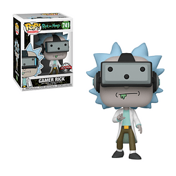 POP! Animation: Rick and Morty - Gamer Rick Special Edition