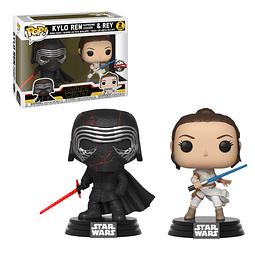 POP! Star Wars: Kylo Ren Supreme Leader & Rey Special Edition