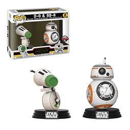 POP! Star Wars: D-0 & BB-8 Special Edition