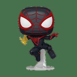 POP! Games: Marvel Spider-Man - Miles Morales (Classic Suit)