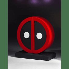 Bookends Marvel Comics Deadpool Logo Edição Limitada