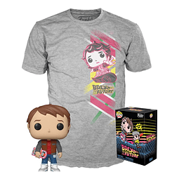 POP! & Tee Box Back to the Future Marty Exclusive